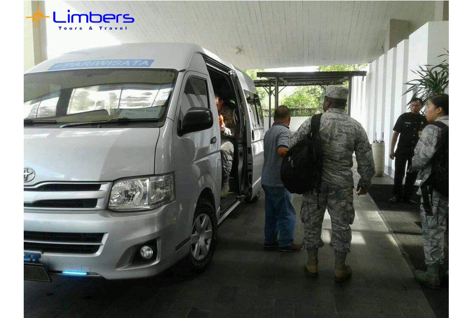 Hiace ready bersama Angkatan Udara USA