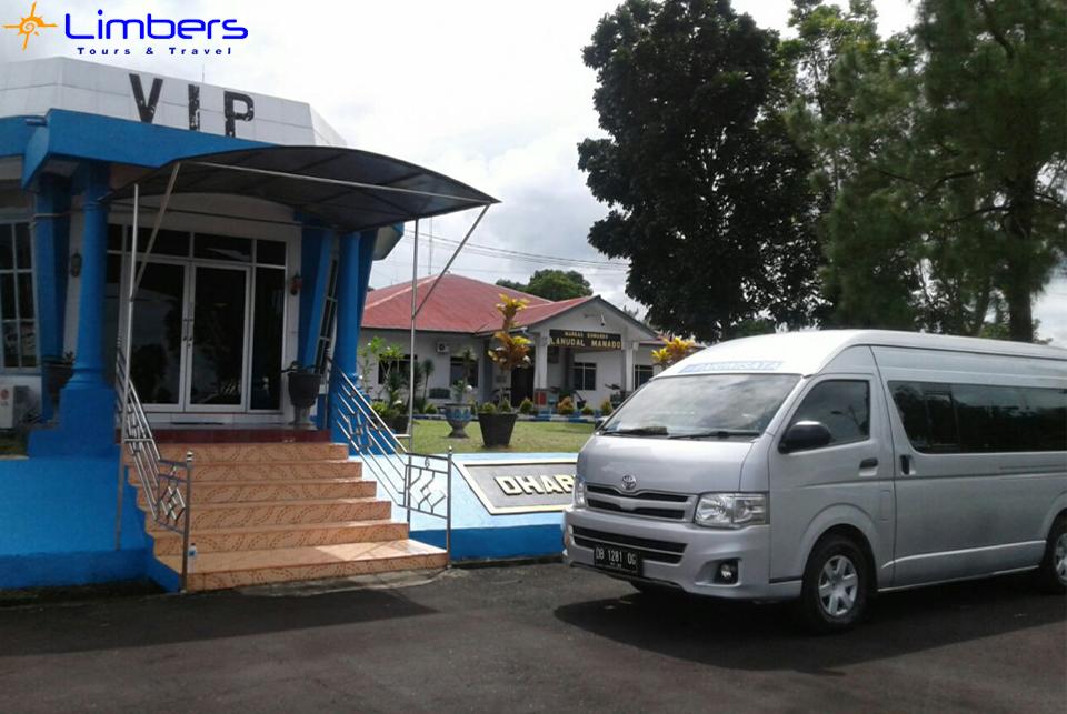 Hiace di Pangkalan VIP TNI AU