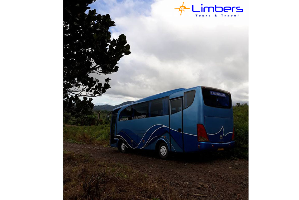 Bus 29seats di Pegunungan Modoinding